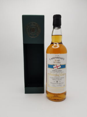 The English Whisky Co. 8 yo (2009/2018), Cadenhead's, 61.9%