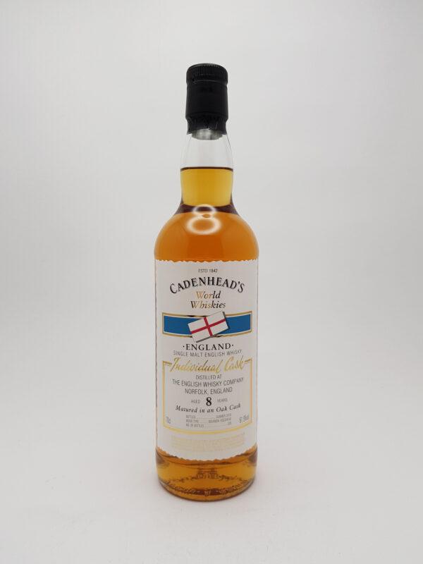 The English Whisky Co. 8 yo (2009/2018), Cadenhead's, 61.9%