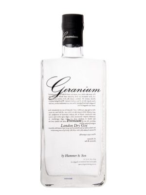 Geranium Gin, god gin - foto - eksklusiv gin
