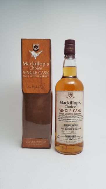 Caperdonich 1968 whisky - eksklusiv whisky - god - foto