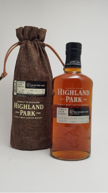 Highland Park single cask Bottega - eksklusiv whisky - foto