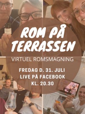 Romsmagning - rigtig god rom - virtuel romsmagning - foto