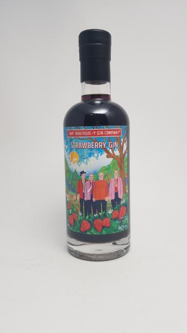 Jordbær gin - strawberry gin - That Boutique-y gin - foto