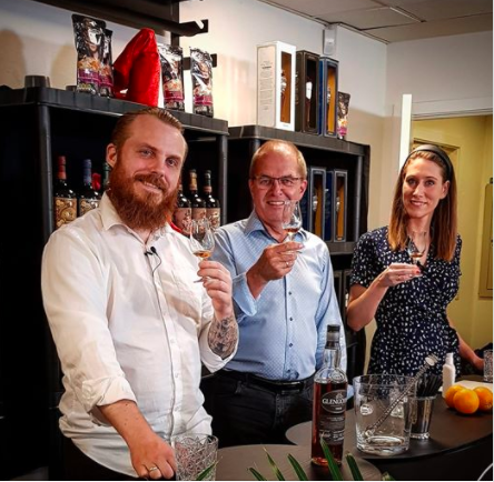 Virtuel whiskysmagning