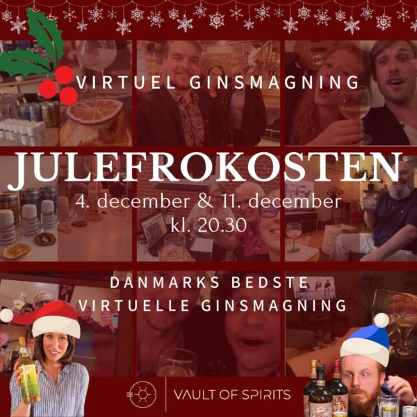 Virtuel ginsmagning - julefrokosten