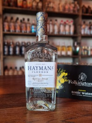 Hayman's Royal Dock Navy Strength Gin, 57% Gin & Tonic sæt