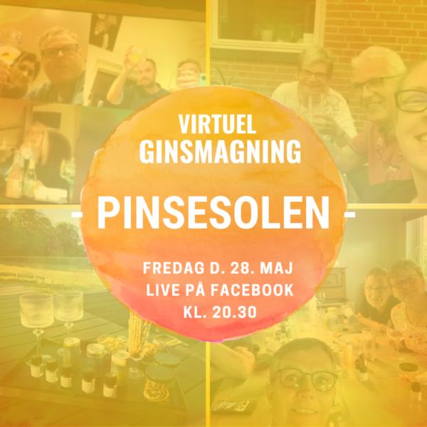 Virtuel Ginsmagning - Pinsesolen - eksklusiv smagning- foto