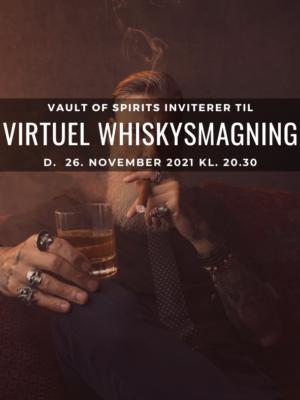 Virtuel Whiskysmagning - Eksklusiv whiskysmagning - foto